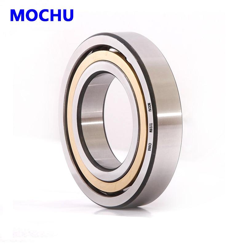 1pcs MOCHU 7212 7212BM 60x110x22 7212BECBM 7212-B-MP Angular Contact Ball Bearings ABEC-3 Bearing High Quality Bearing 1pcs 71901 71901cd p4 7901 12x24x6 mochu thin walled miniature angular contact bearings speed spindle bearings cnc abec 7