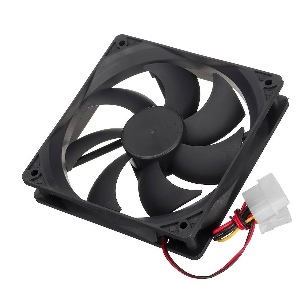 PC Computer Case Fan High Speed Cooling Cooler Fan Radiator 120mm DC 12V 3Pin PC Case System Hydraulic Cooling Fan Heatsink