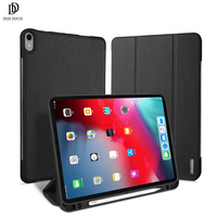 DUX DUCIS Smart Case For iPad Pro 11 2018 PU Leather Flip Cover for Apple iPad Pro 11 inch 2018 Release with Pencil Holder Coque