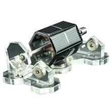 5,5 дюймов ручной работы Mendocino Солнечный двигатель Магнитный левитирующий двигатель модель двигателя