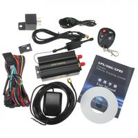 רכב GPS Tracker Coban GPS103B TK103B מערכת מעקב GPRS GSM גשש מיקום אזעקת אופנוע שלט רחוק לחתוך את כוח נפט