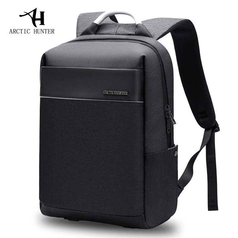 ARCTIC HUNTER 2018 New Laptop Backpack Men s Fashion Students USB Charging Business Traveling Waterproof Casual