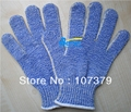 New 7 Guage HPPE Gloves Aramid Fiber Working Gloves Steel Knitted EN388 5 Grade Cut Resistanct Work Gloves