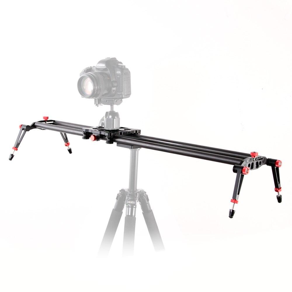 """80cm / 32 """"DSLR 카메라 탄소 섬유 슬라이더 돌리 트랙 비디오 안정제 레일 시스템 dhl 무료 배송"""