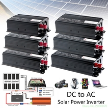 Solar Power Inverter 12V DC To 230V AC Modified Sine Wave Converter 300W/500W/1000W/1500W Drop Ship 11