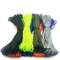 Paracord 550/4 Mm/cuerda/Accesorios Iii 7 soporte de escalada/cuerda de paracaídas Para montañismo Cordón de paracaídas cordón Para tienda