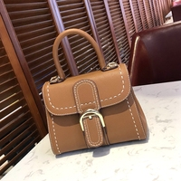 Hely Coptar 100 Genuine Leather Women Handbag Luxury Designer Brown Shouder Bags For Women Top