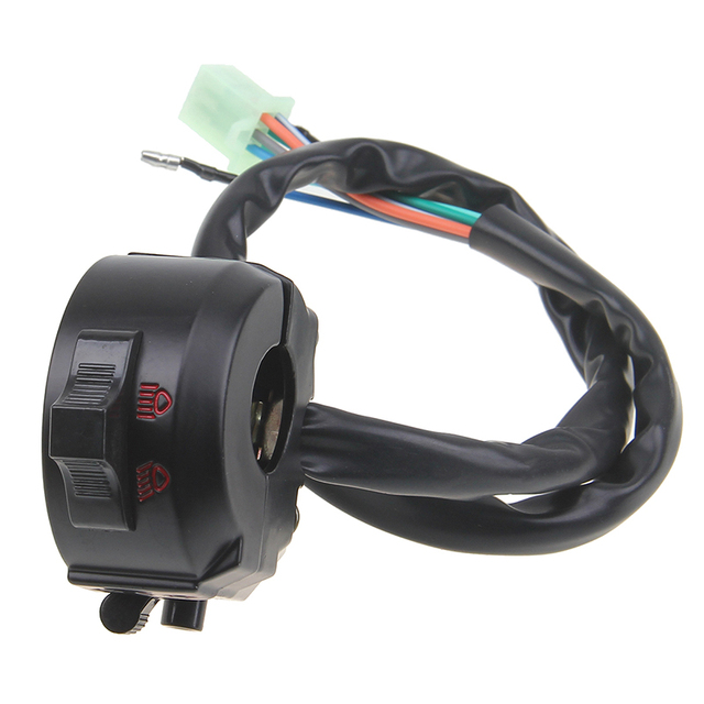 Universal Motorcycle Switches Handlebar Switch Gear On Off Road Horn