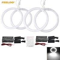 FEELDO 4Pcs/Set Special Car CCFL Halo Rings Angel Eyes Light For Opel ASTRA H (2004 2008) DRL Headlight #FD 1178