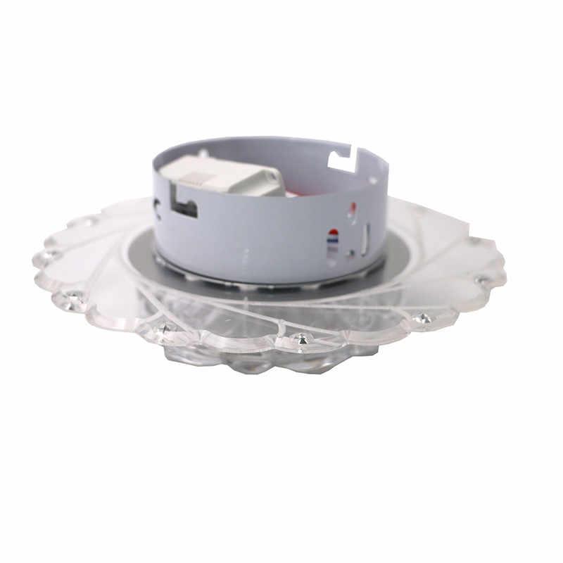 Lámpara de techo de cristal minimalista SANYI, lámpara LED para pasillo, balcón, comedor, accesorio de iluminación, luz blanca cálida/blanca