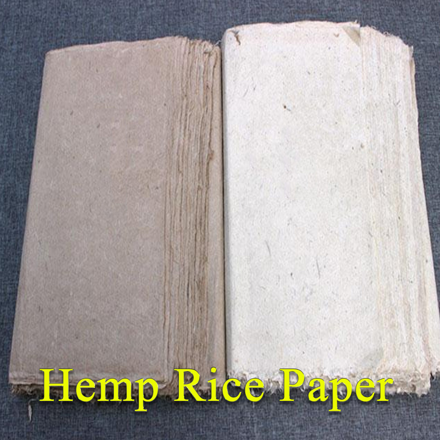 100 sheet/pack traditional rice paper for painting calligraphy xuan paper from Ancient Papermaking Method wine kanglong prince xuan 4 100