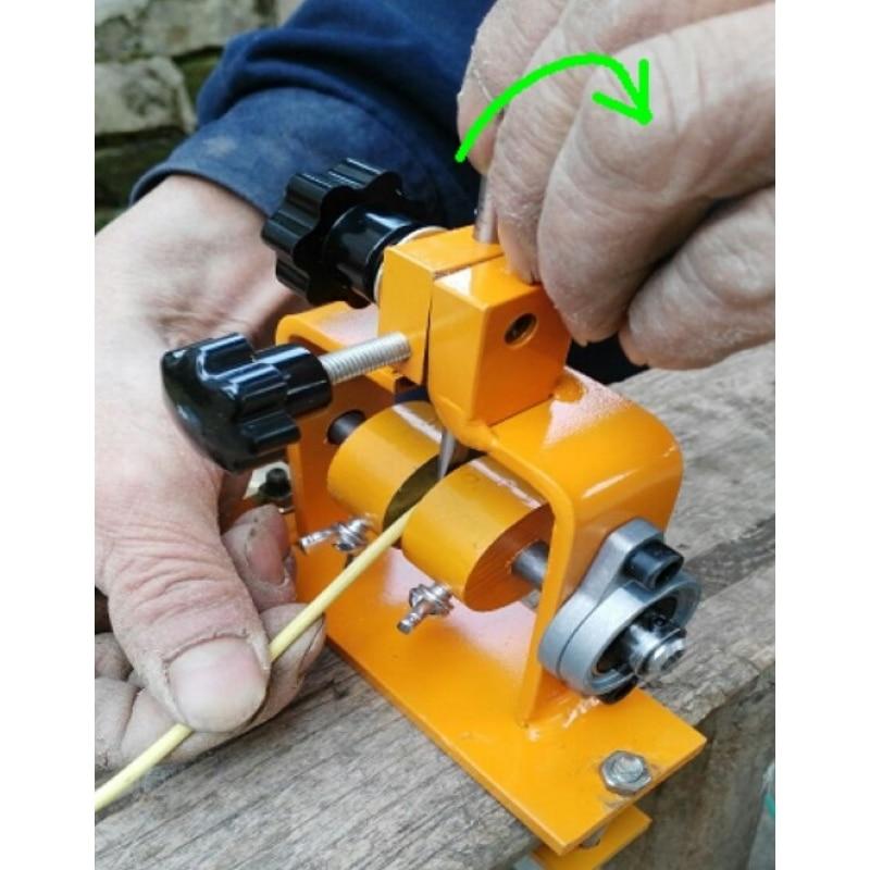 Manual do Cabo Cabo de Descascamento do Fio Máquina De Descascamento do Fio Alicates de Decapagem com 3 pcs Faca automática de compressão ajustável