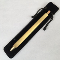 High Quality Vintage Brass Pen Gel Ink Pen Handmade With Black Ink Pure Copper Pen For