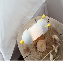 Animal table lamp wall telescopic folding cartoon led charging usb night light bedroom bedside reading