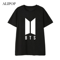 ALIPOP Kpop BTS Bangtan Boys ARMY Love Yourself Album Shirts HipHop Loose Clothes Tshirt T Shirt