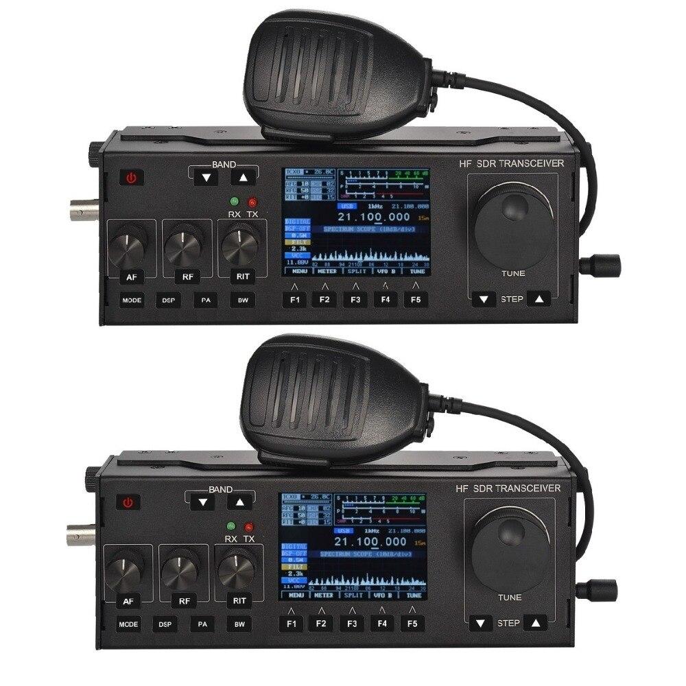 RS-918 SSB HF SDR émetteur-récepteur 15 W puissance Radio Mobile RX: 0.5-30 MHz TX: toutes les bandes de jambon Instrument multifonctionnel