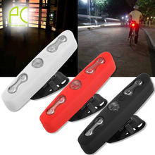 PCycling New High Power 5 LED 7 Mode waterproof Cycling Safety Bicycle Rear Lamp Bike Caution Rear Tail Laser Tail Light