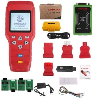 OBDSTAR X100 PRO C+D+E model Key Programmer with EEprom Adapter+IMMOBILISER+Odometer Adjustment better than OBDSTAR X-100 PROS telephony