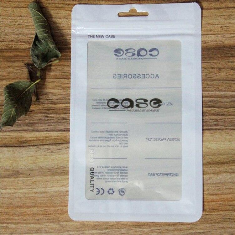 12*21 cm 500 piezas brillante o mate embalaje plástico cremallera bolsas accesorios teléfono móvil funda bolsas de la cubierta-in Bolsas de almacenamiento from Hogar y Mascotas    3