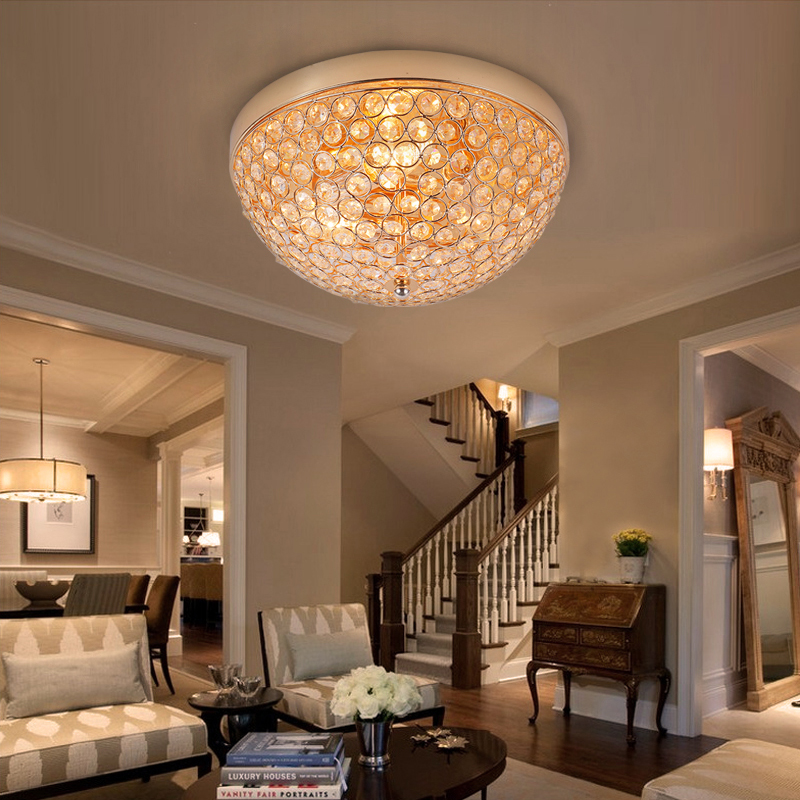 Modern Led Ceiling Lights For Living Room Bedroom DiningRoom Home Crystal Ceiling Lamp Lighting Light Fixtures Free Shipping штатная магнитола для toyota lc 100 2002 2007 carmedia kr 7083 t8 на android 7 1 камера заднего вида
