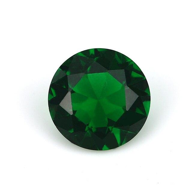Купить размер 1 мм ~ 15 круглый стеклянный камень белый зеленый синий картинки