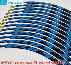 Koło rowerowe górskie zestaw obręczy naklejki mavic naklejki rowerowe naklejki Crossmax XL koła