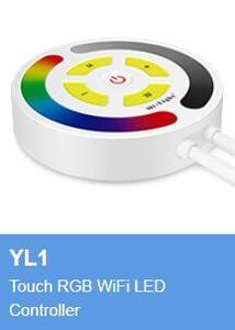 Image 5 - Amazon Alexa YT1 WiFi uzaktan kumanda YL1 dokunmatik RGB WiFi LED denetleyici YL5 5 IN 1 WiFi LED denetleyici 9W RGB + CCT WiFi bağlantılı LED ampul
