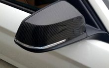 For BMW X1 E84 2013 2014 2015 Carbon fiber rearview mirror cover trim 2pcs Car Exterior Decoration Car-styling