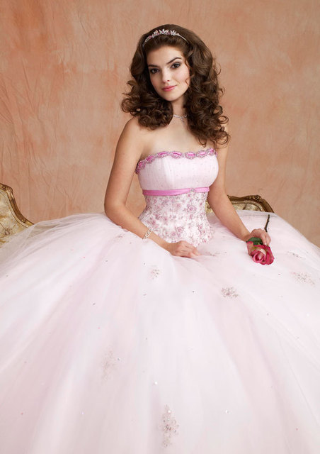 Aliexpress.com : Buy White Quinceanera Dresses with Jacket Short ...