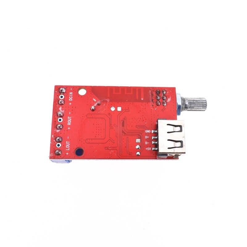 12V 30W*2 Bluetooth 4.2 Receiver Stereo Audio Power Amplifier Board AUX USB DIY