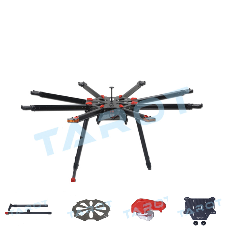 Tarot X8 Octaopter Folding Carbon Fiber Frame Parts Drone Accessories-in  Parts & Accessories from Toys & Hobbies on Aliexpress com | Alibaba Group