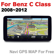 Car Android Radio GPS Multimedia player For Mercedes Benz C Class 2008~2012 NTG stereo HD Screen Navigation Navi Media