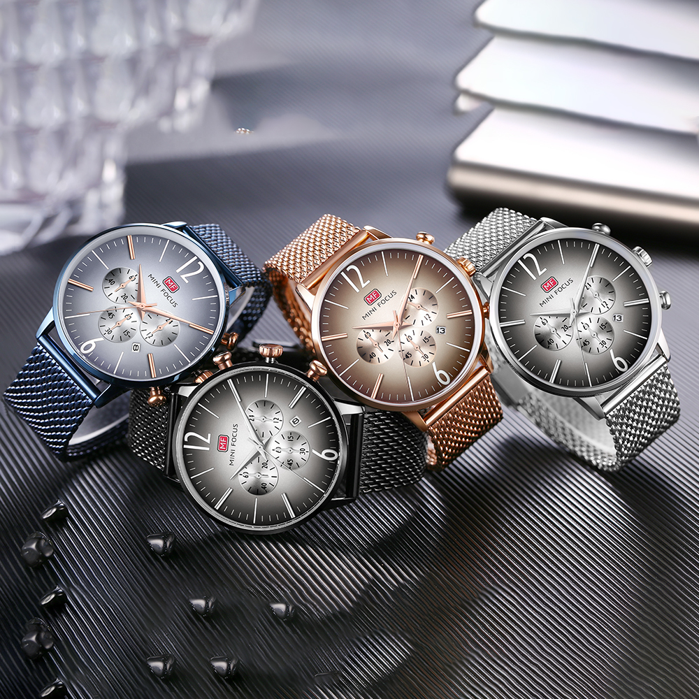 MINIFOCUS Top Brand Fashion Luxury Men Watch reloj de pulsera de - Relojes para hombres - foto 6