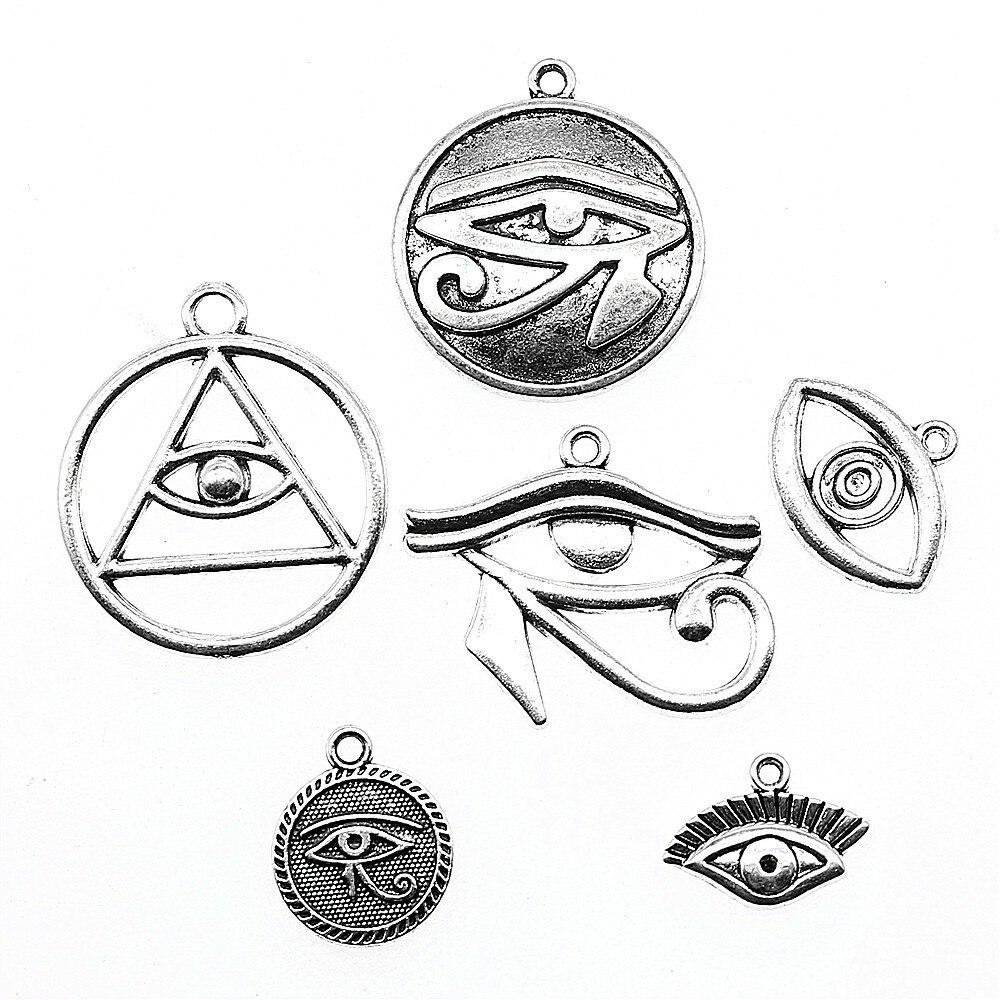 10pcs Eye Of Horus Charm Eye Of Horus Charm For Jewelry