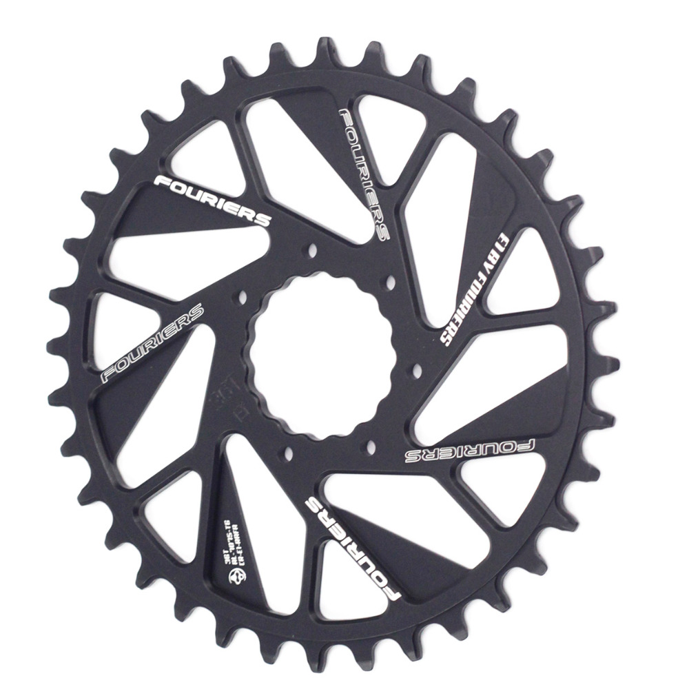 Fouriers MTB Bike Single Chainring 0mm Offset Direct Mount For Cinch NEXT SLG4 R SL SIXC