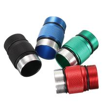 Alumiun Alloy 4 Colors 18350 Battery Extension Tube Compartment Lighting Accessories For S2+ Blue/Red-led Flash Light Torch