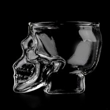Skull Shaped Shot Glass