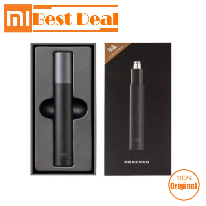 New Xiaomi Mini Electric Nose Hair Trimmer HN1 Blade Body Wash Portable Minimalist Design Waterproof Safe For Family Daily Use