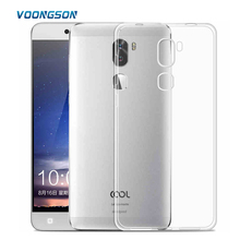 Clear Case For LeTv Cool1 dual TPU Cover case Soft Silicon accessory Original CHYI Brand With Gift