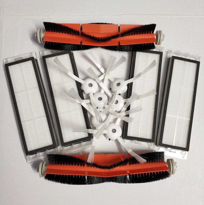 6 * seitenbürste + 4 * HEPA-filter + 2 * haupt pinsel geeignet für xiaomi vakuum 2 roborock s50 xiaomi roborock Xiaomi Mi Roboter