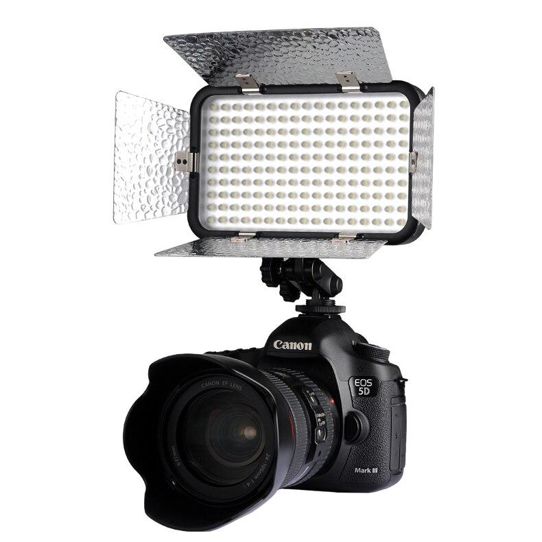 Godox LED-170II 6-12 V 2700LM LED lampe de lumière vidéo pour Photo Studio vidéo prise de vue pour Nikon Canon éclairage vidéo