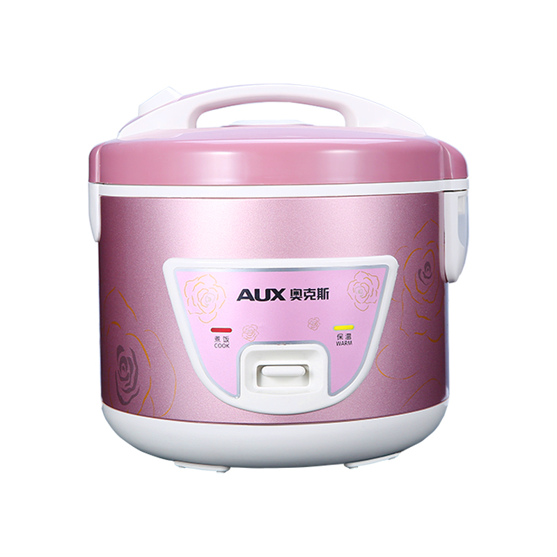 220V AUX 3L Household Electric Rice Cooker Easy Operation Non-stick Inner Multifunctional Rice Cooking Machine 220v aux 5l electric electric pressure cooker non stick microcomputer control electric rice cooker intelligent booking function