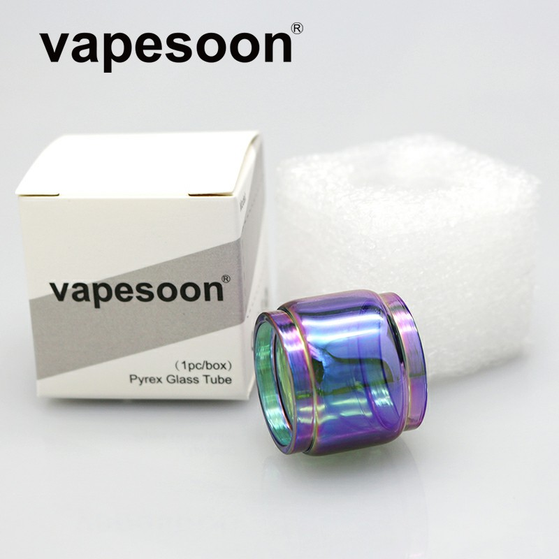 Rainbow Replacement Normal / <font><b>Bulb</b></font> Pyrex <font><b>Glass</b></font> Tube 3ML / 4.5ML Capacity for SMOK <font><b>TFV12</b></font> Baby <font><b>Prince</b></font> Tank Atomizer image