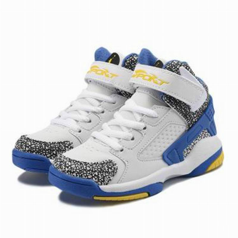 Basketball Shoes Boys 2018 New Outdoor Spring Non-slip Breathe Kids Sport Sneakers Size 26~36