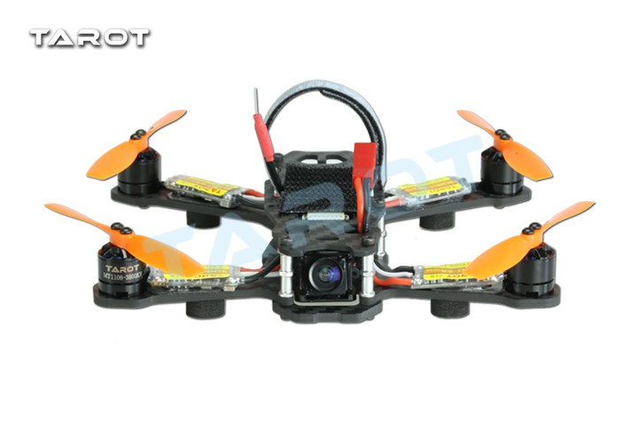 все цены на F18648 Tarot 150 Racing Drone Combo Kit TL150H1 BNF/RTF 150mm 4-Axle Carbon Quadcopter Kit 5.8G FPV Camera LED ESC Motor онлайн