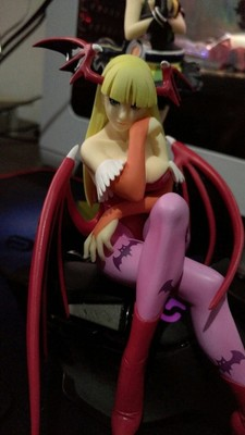Japanese original anime figure Vampire Morrigan action figure collectible model toys for boys