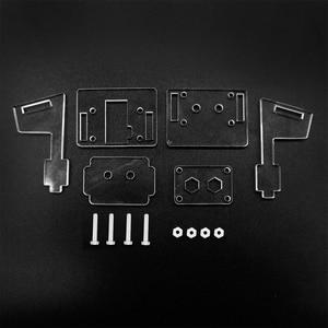 Image 5 - Estojo acrílico transparente para câmera, proteção de revestimento e suporte para câmera 2 em 1 raspberry pi 3b só caso