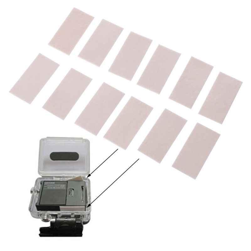 Anti Fog Inserções para Gopro Herói 7 5 4 6 Preto Xiaomi Yi 4 K Sjcam Eken H9 Caso À Prova D' Água câmera para Acessório 10166 10166
