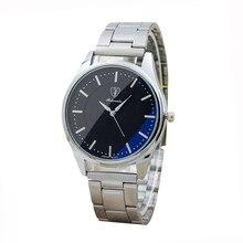 f0a711c9264 Homens Relógios Nova Marca de Luxo de Aço Inoxidável relógio masculino  Esporte Quartz Horas Analógico Relógio de Pulso reloj fem.