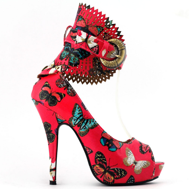 Owl Stiletto Pump